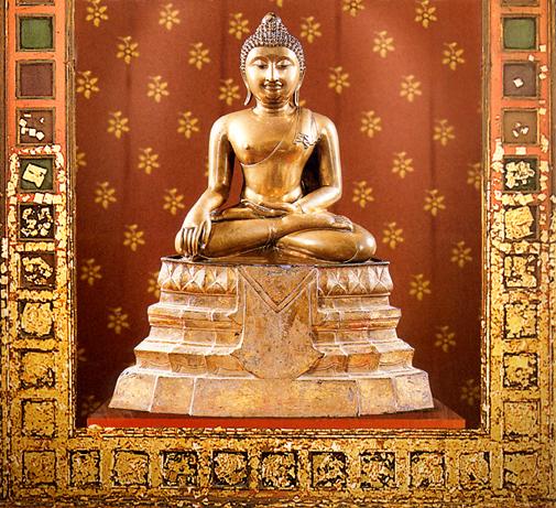 Thai Buddha: Phra Phutta Sihing Nakhon Sri Thammarat