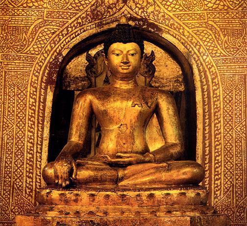 Thai Buddha: Phra Phuttha Sihing Chiagmai