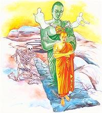 dhammapada verse 36 36 dhammapada na antalikkhe na samuddamajjhe na pabbatānaṃ vivaraṃ pavissa / na vijjatī so jagatippadeso yatthaṭṭhito muñceyya pāpakammā 2 // dhp_127 /.