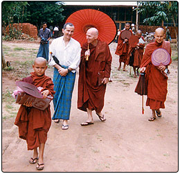 a look into buddhist monastic life Monastic life preparing for ordination exploring monastic life we'll know how its topic fits into the general buddhist framework the four noble truths was the first teaching the buddha gave after his enlightenment ok we are going to look into our lives.