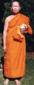Laotian monk