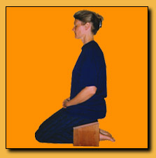 Kneeling Posture - side-view