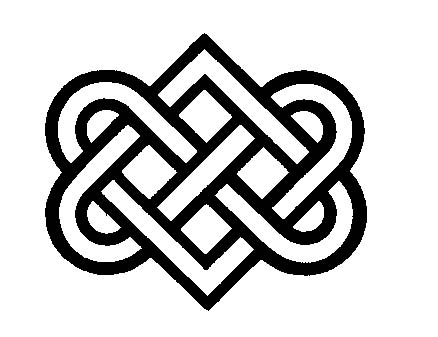 Buddhist Love Knot Tattoo