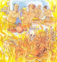 Treasury of Truth (Dhammapada) Chapter 22, Hell