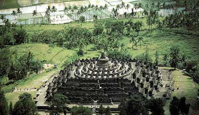 buddhist art the temple of borobudur java